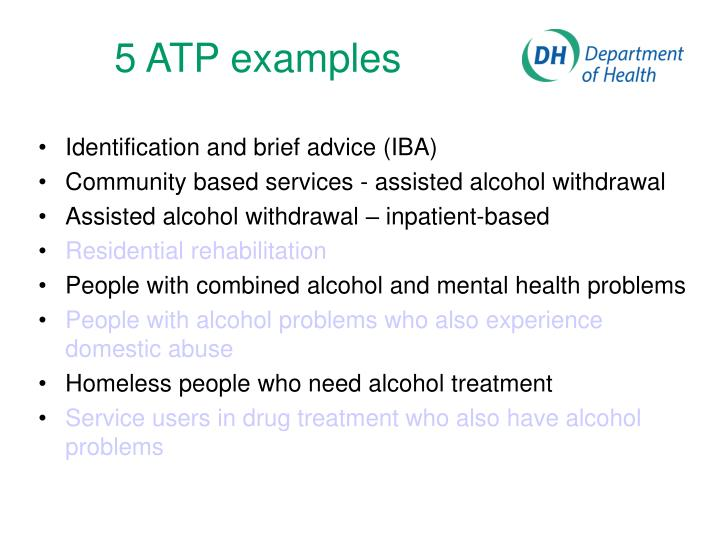5 ATP examples