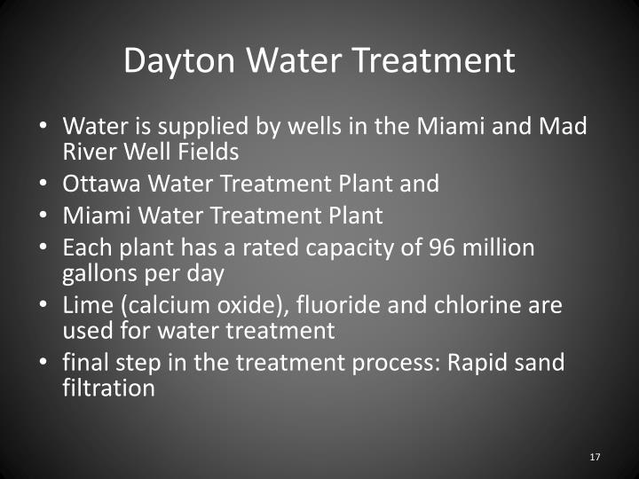 Dayton Water Treatment