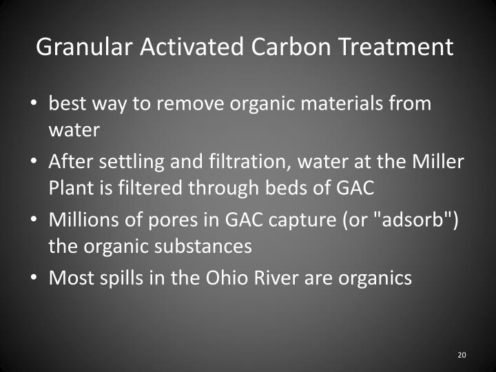 Granular Activated Carbon Treatment