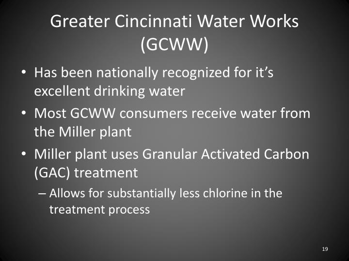 Greater Cincinnati Water Works (GCWW)