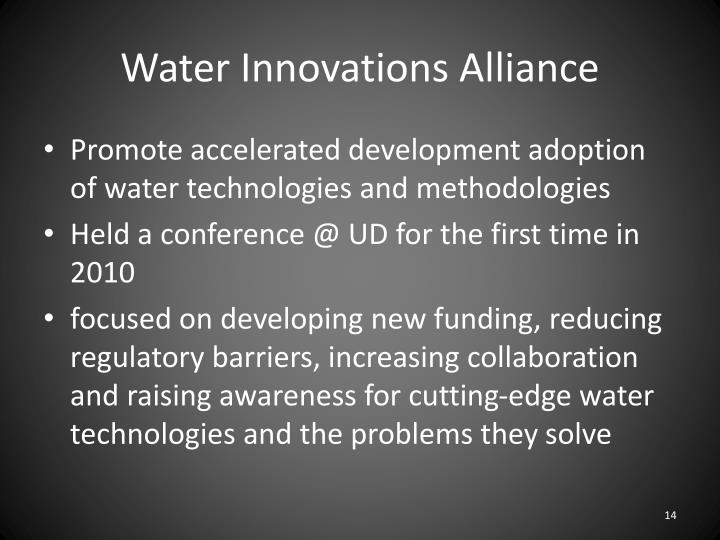 Water Innovations Alliance