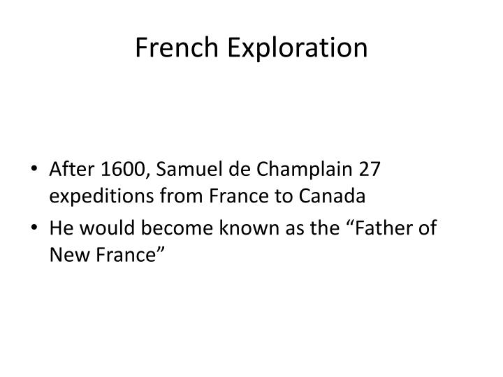 French exploration1