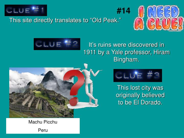 """This site directly translates to """"Old Peak."""""""