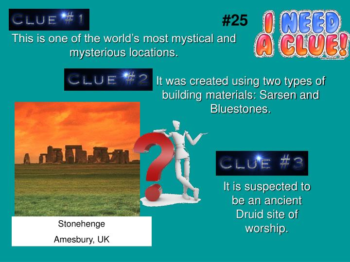 This is one of the world's most mystical and mysterious locations.