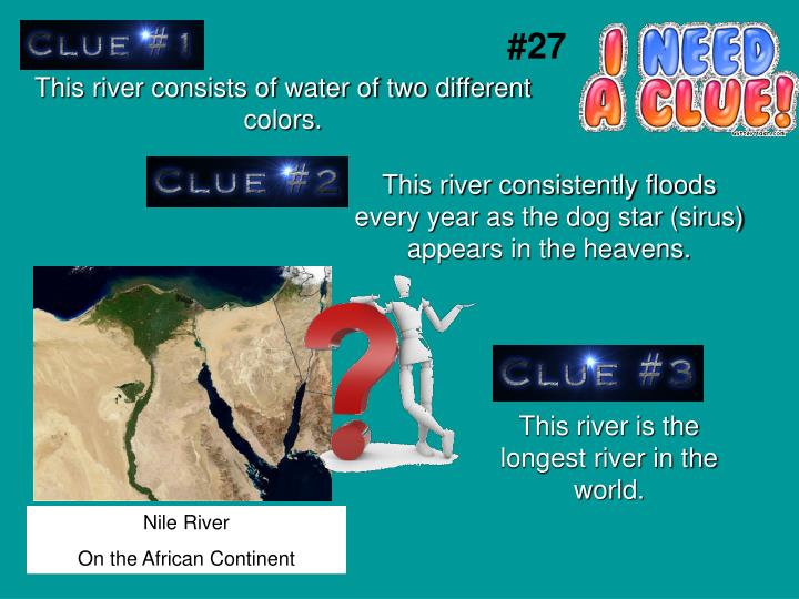 This river consists of water of two different colors.