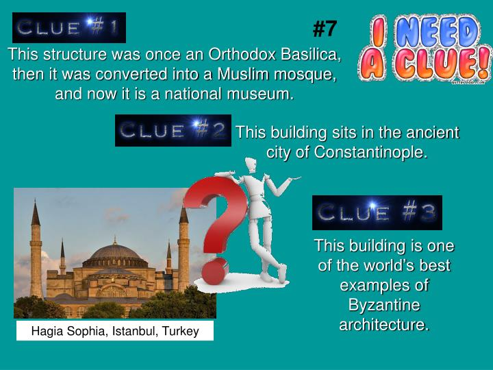 This structure was once an Orthodox Basilica, then it was converted into a Muslim mosque, and now it is a national museum.