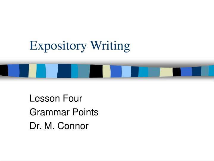 expository writing lessons Writing a descriptive paragraph this expository writing lesson is student directed because free expository writing lesson plan - writing a descriptive paragraph.