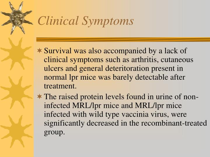 Clinical Symptoms