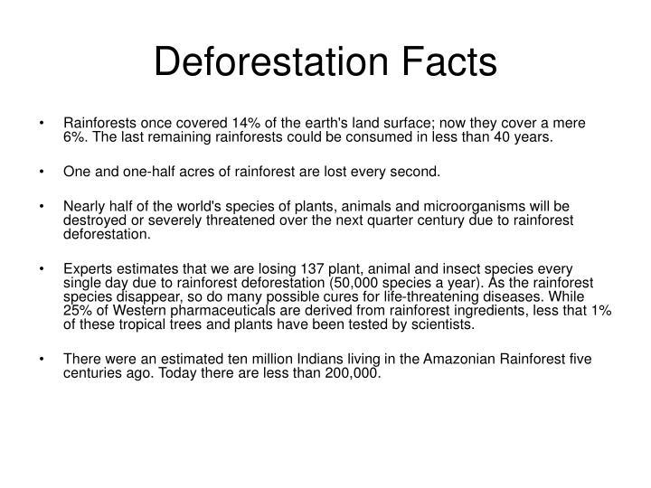 Deforestation Facts