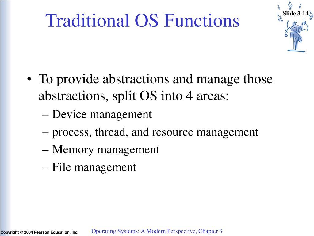 PPT - Operating System Organization PowerPoint Presentation - ID:3036047