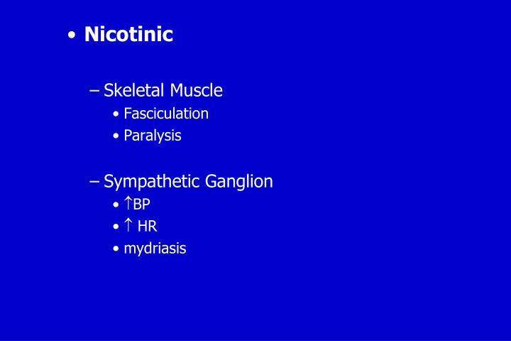 Nicotinic