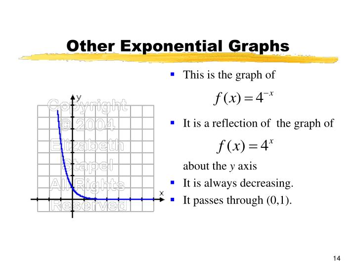 Other Exponential Graphs