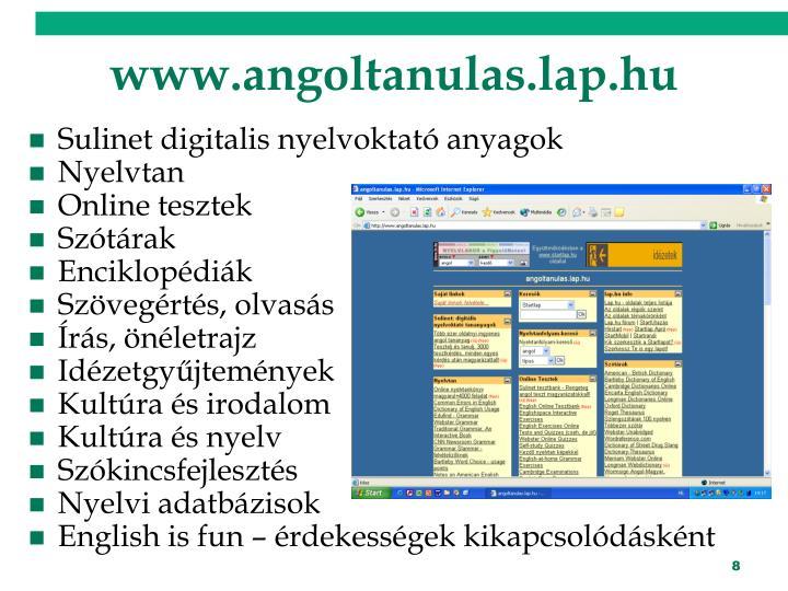 www.angoltanulas.lap.hu
