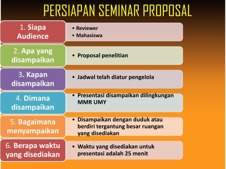 Seminar Proposal Ppt