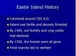 easter island history