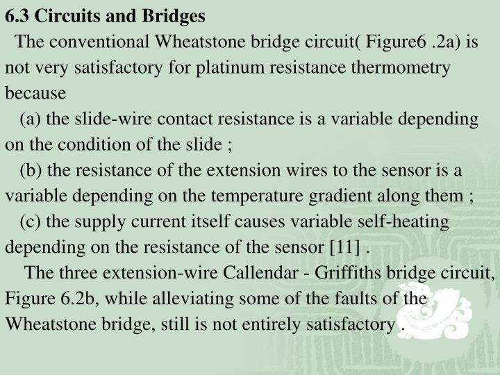 6.3 Circuits and Bridges