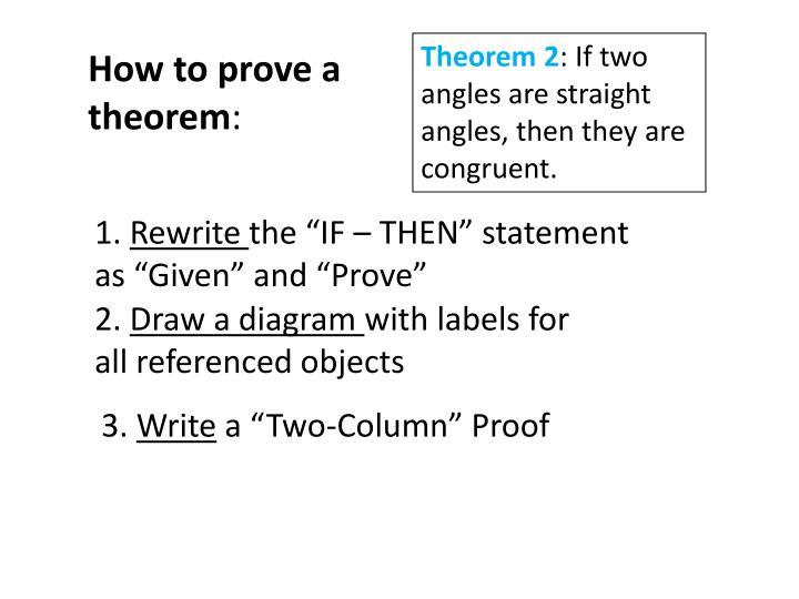 Theorem 2
