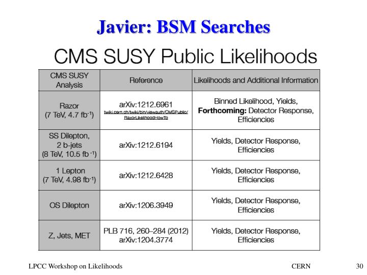 Javier: