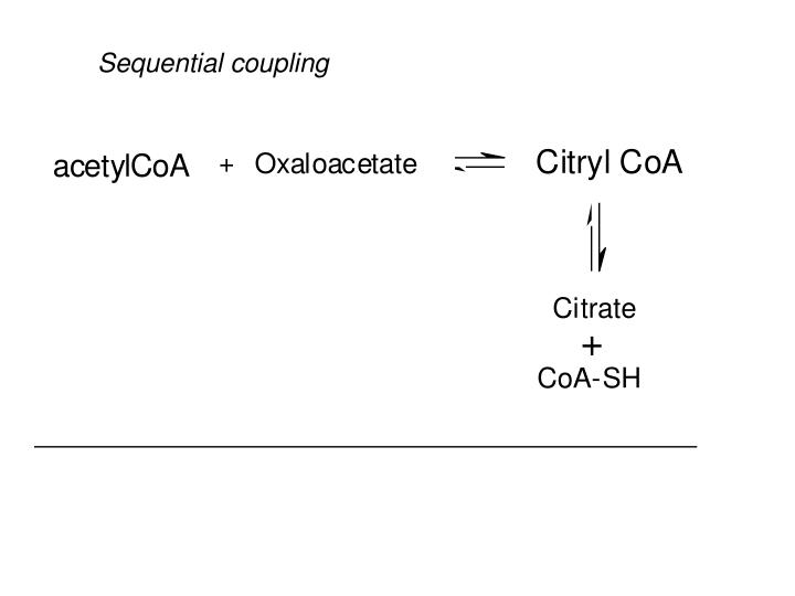 Sequential coupling