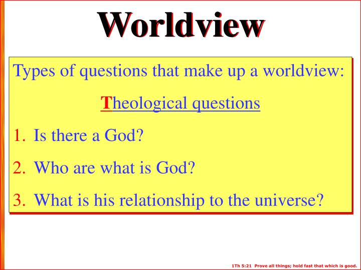 "questions and answers about worldview and how it impacts life according to ronald nash Life's ultimate questions: an introduction to philosophy, zondervan, 1999 this book is in the evangel library, and this review is by larry d paarmann ronald nash is a professor of philosophy and theology at reformed theological seminary, and taught for many years  answers to ""life's ultimate questions"" where other systems of."