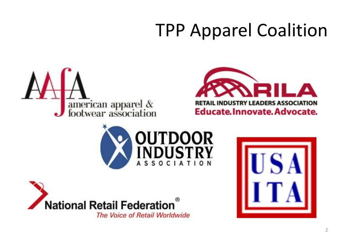 Tpp apparel coalition