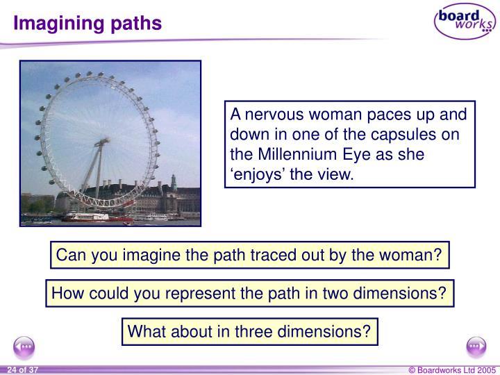 Imagining paths