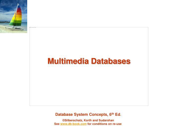 Multimedia Databases