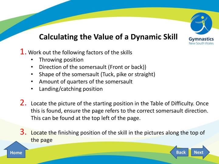 Calculating the Value of a Dynamic Skill