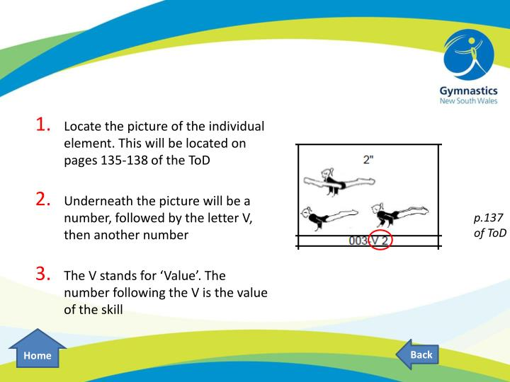 Locate the picture of the individual element. This will be located on pages 135-138 of the