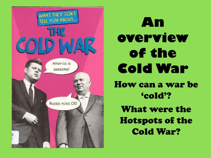 the events leading to the rise of the cold war
