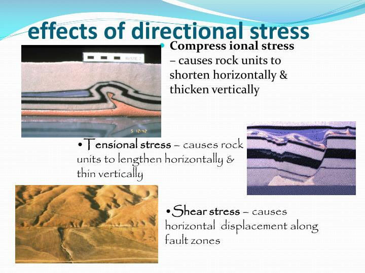 effects of directional stress
