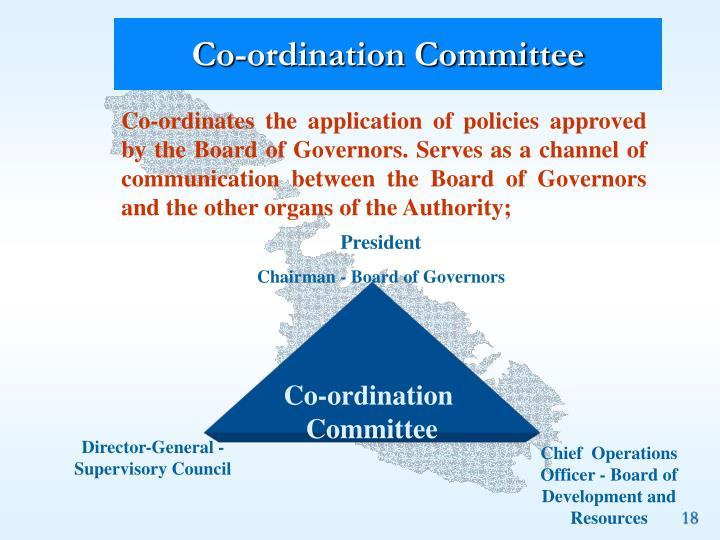 Co-ordination Committee