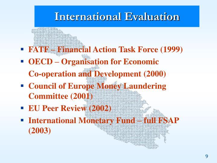 International Evaluation