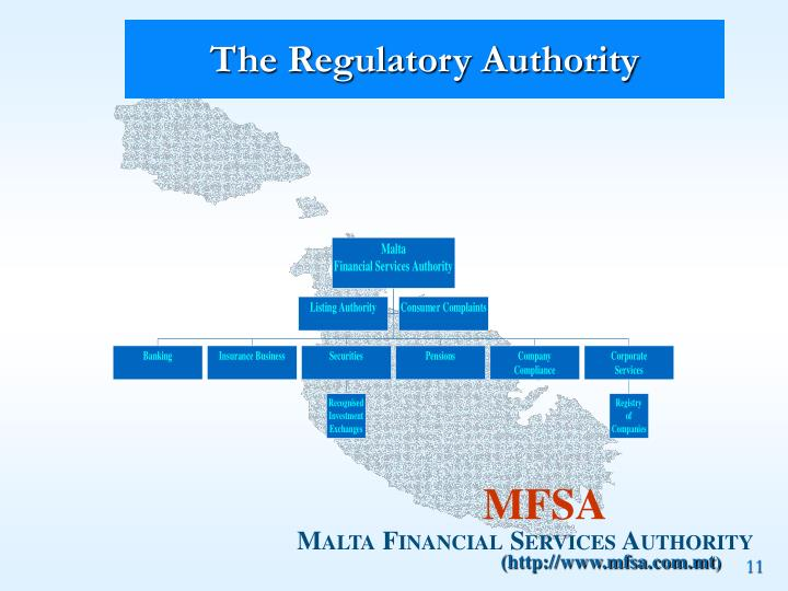 The Regulatory Authority