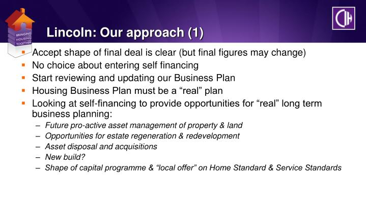Lincoln: Our approach (1)