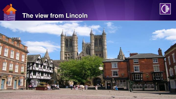 The view from Lincoln