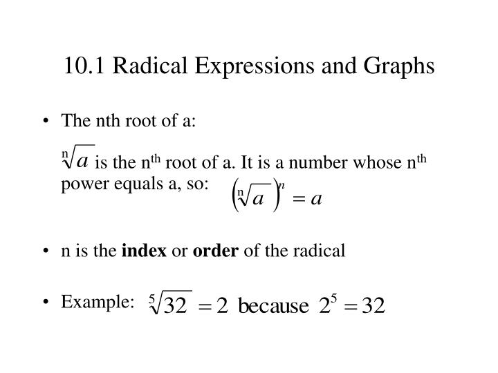 10 1 radical expressions and graphs1