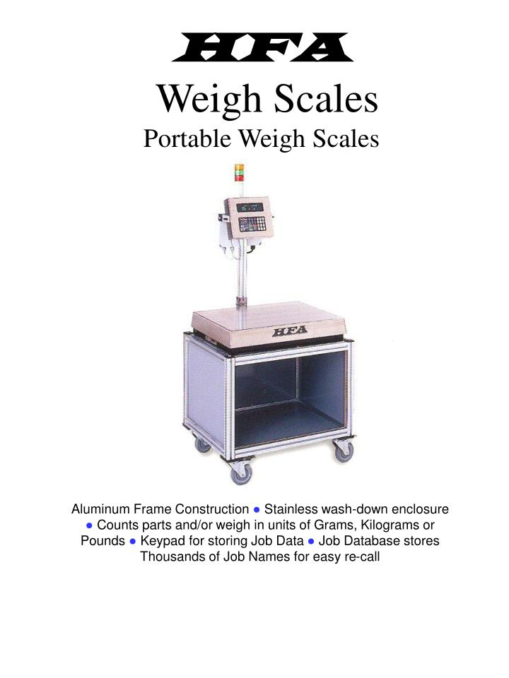 hfa weigh scales portable weigh scales n.