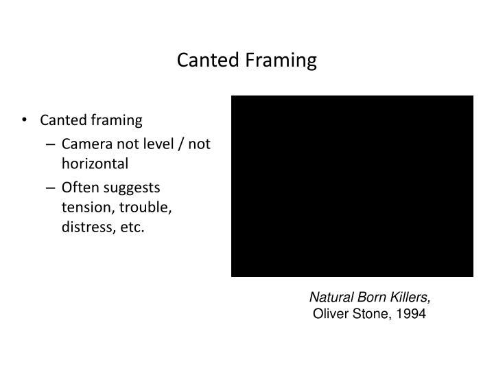 Canted Framing