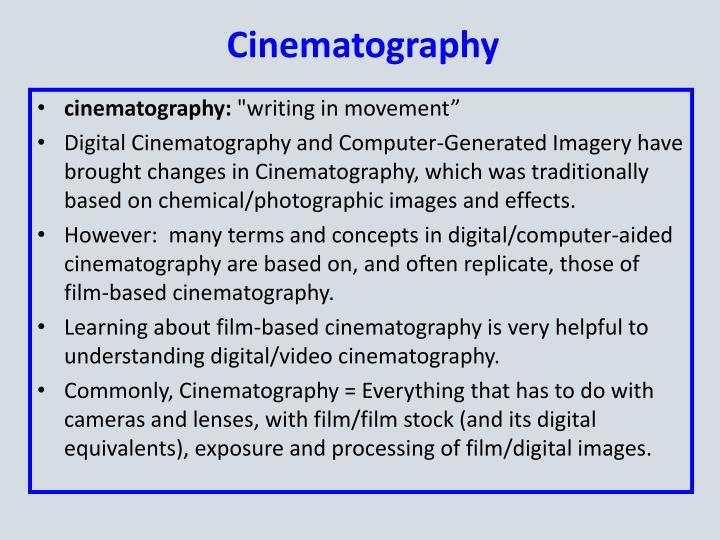 Cinematography1