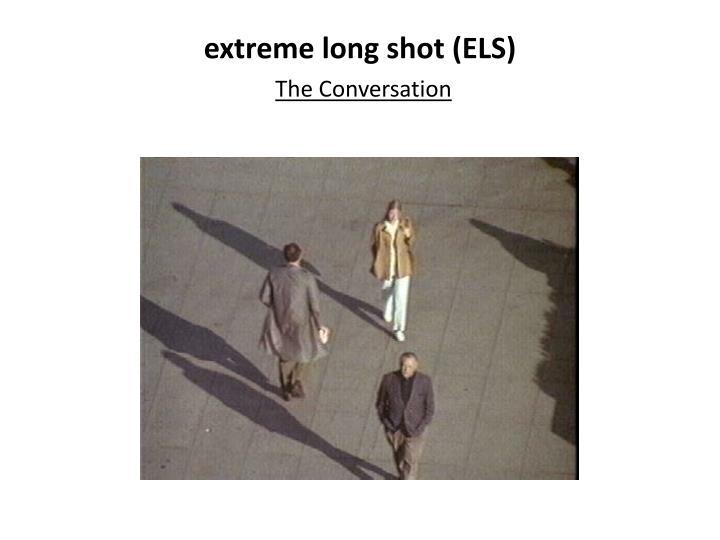 extreme long shot (ELS)