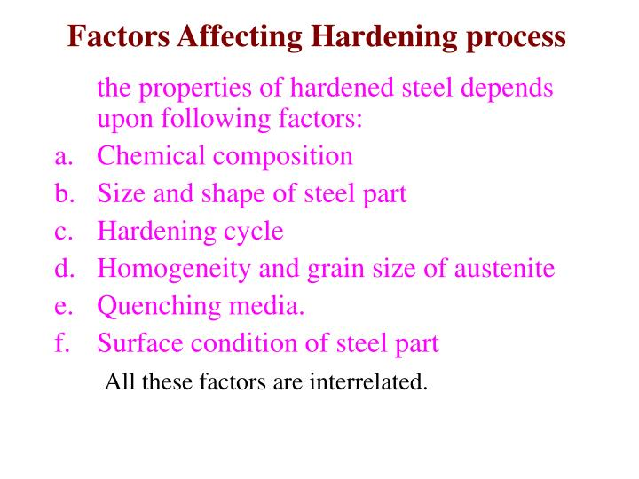 factors affecting the supply of steel When all the factors that could affect the price of oil are considered, the most influential remain supply and demand.