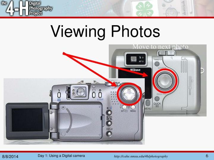 Viewing Photos