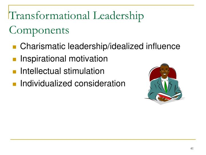 Transformational Leadership Components