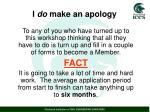 i do make an apology1