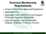 technical membership requirements3
