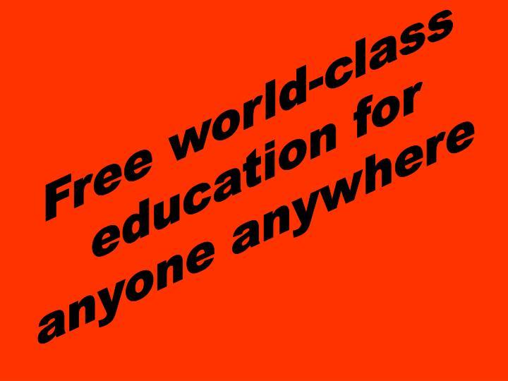 Free world-class