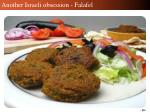 another israeli obsession falafel