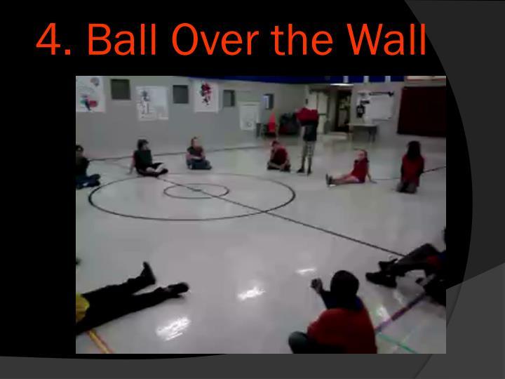 4. Ball Over the Wall