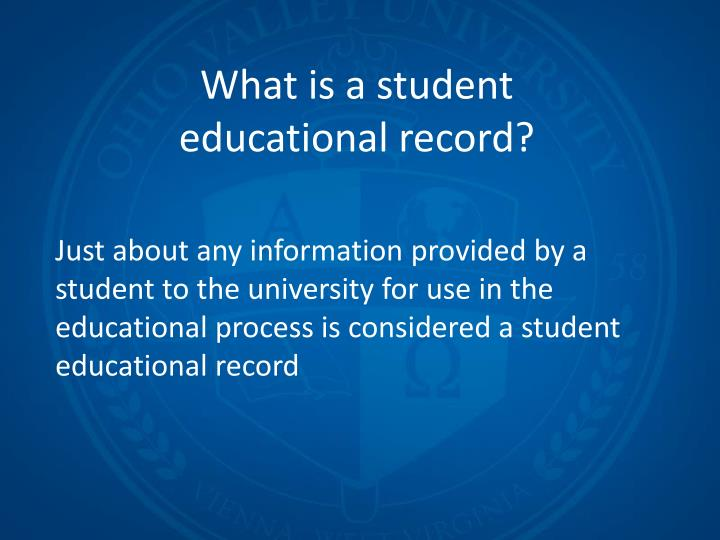 What is a student